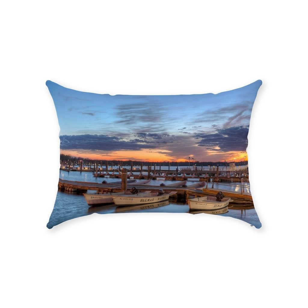 Throw Pillows - Bill McKim Photography -Jersey Shore whale watch tours