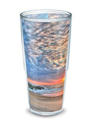 Jersey Shore Tiki Sunrise  24 oz  hot or cold Bill McKim Tervis Tumbler
