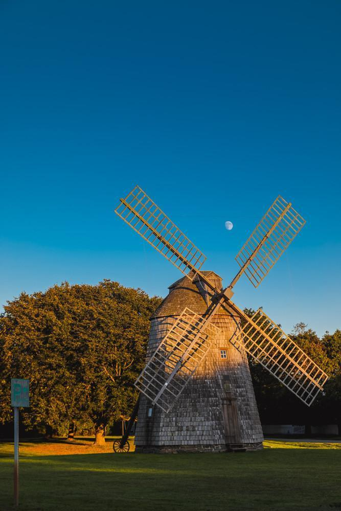 Watermill New York Moon - Bill McKim Photography -Jersey Shore whale watch tours