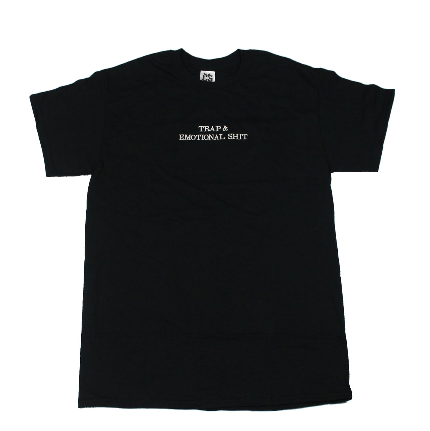 TRAP & EMOTIONAL SHIT SHORT SLEEVE T-SHIRT - BLACK