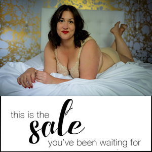 Jaci Blue's First Ever Bra Sale!