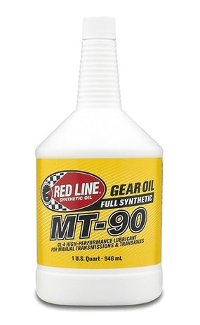Red line MT-90 75W90 GL-4 Gear Oil (946ml)