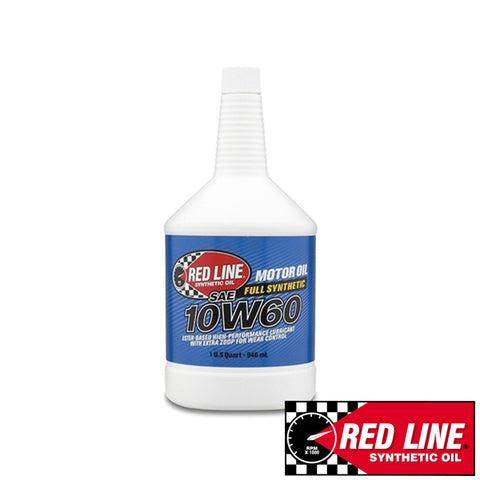 Red line Fully Synthetic 10W-60 Motor Oil (3.79L/946ml)