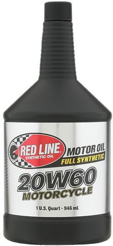 Red Line Fully Synthetic 20W-60 Motorcycle Engine Oil (950ML)