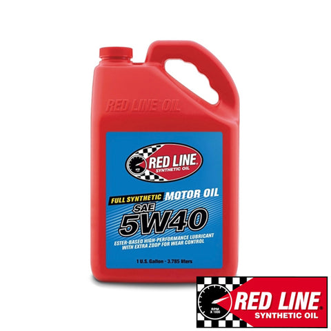 Red line Fully Synthetic 5W-40 Motor Oil (3.79L)