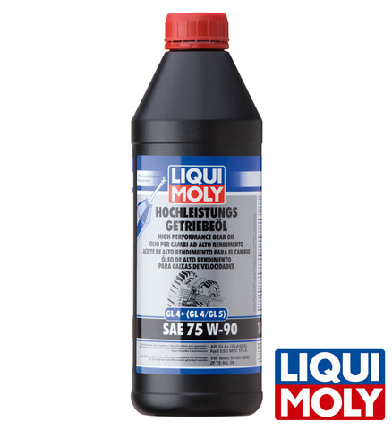 Liqui Moly High Performance Gear Oil (GL4+) SAE 75W-90 (1L)