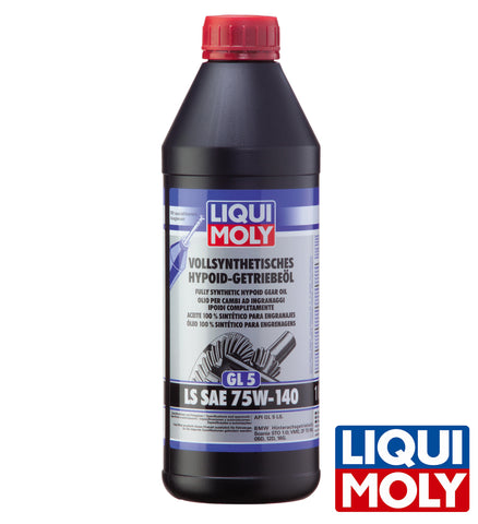 Liqui Moly Fully Synthetic Hypoid Gear Oil GL5 LS SAE 75W-140 (1L)