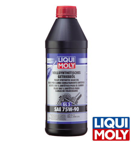 Liqui Moly Fully Synthetic Gear Oil GL5 SAE 75W-90 (1L)