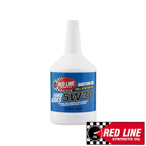 Red line Fully Synthetic Euro-Series 5W-30 Motor Oil (946ml)