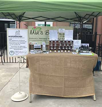 Mia's Botanicals participating with El Dorado Farmer's Market!