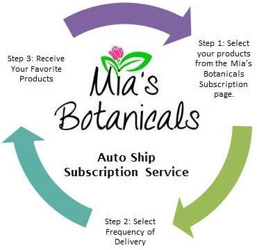 *Now Available: Mia's Auto Ship Subscription Program*