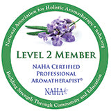 Professional Member of the National Association for Holistic Aromatherapy (NAHA) logo