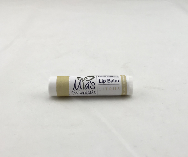 Aromatherapy Lip Balm with organic Cocoa Butter (.15 oz.)