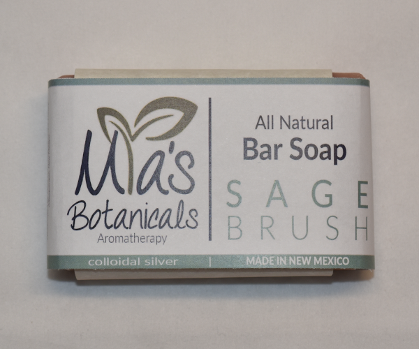 All Natural Bar Soap (Sage)
