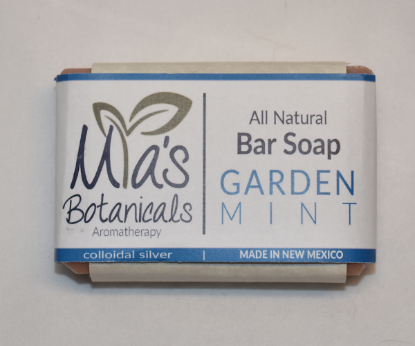 All Natural Bar Soap (Garden Mint)