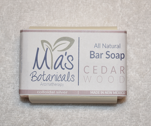 All Natural Bar Soap (Cedarwood)