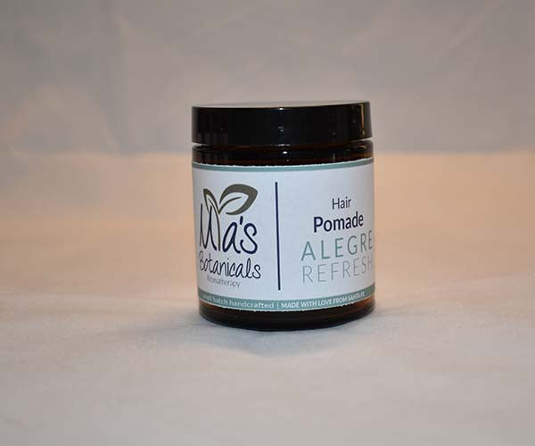 Natural Aromatherapy Hair Pomade (4 oz.)