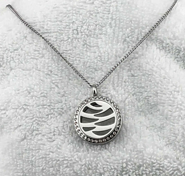 Stainless Steel Aromatherapy Necklace