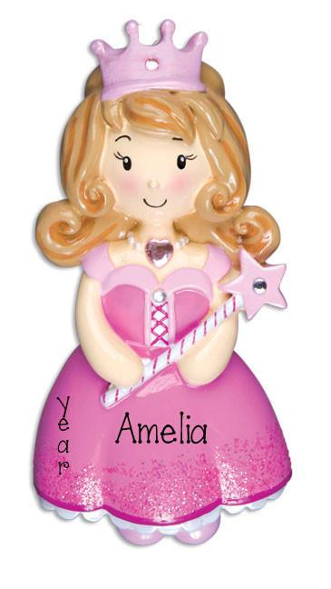 Beautiful Princess-Personalized Ornament