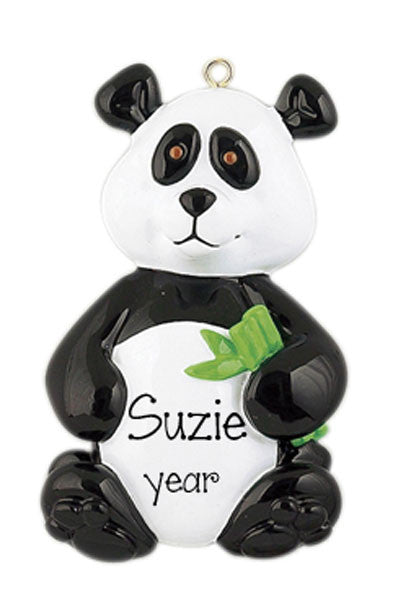 PANDA BEAR Personalized Ornament