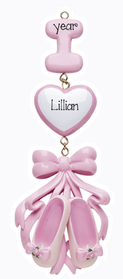 I Love Ballet-Personalized Ornament