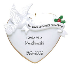 in memory of ornament my personalized ornaments