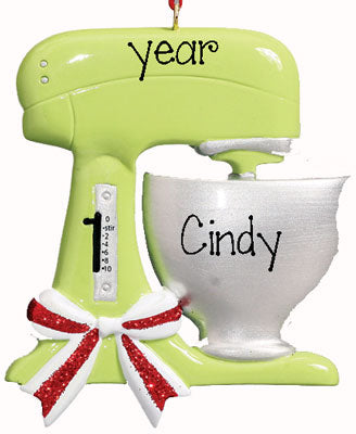 ELECTRIC MIXER w/ BOWL  Personalized Ornament