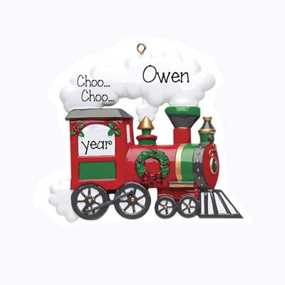 Choo Choo Train-Personalized Ornament