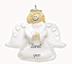 ANGEL W/ WINGS/MY PERSONALIZED ORNAMENTS/CHRISTMAS ORNAMENTS