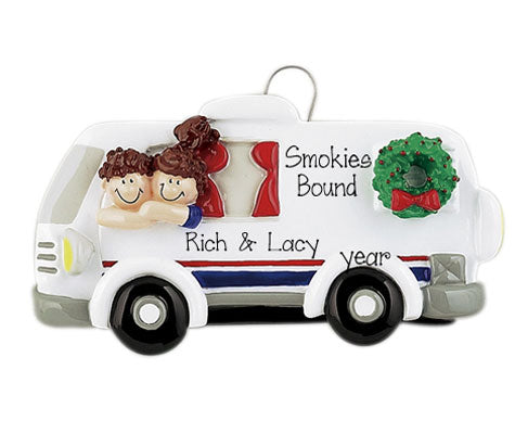 RV COUPLE Personalized Ornament