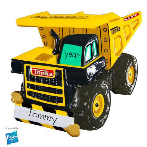 Tonka Truck my personalized ornaments