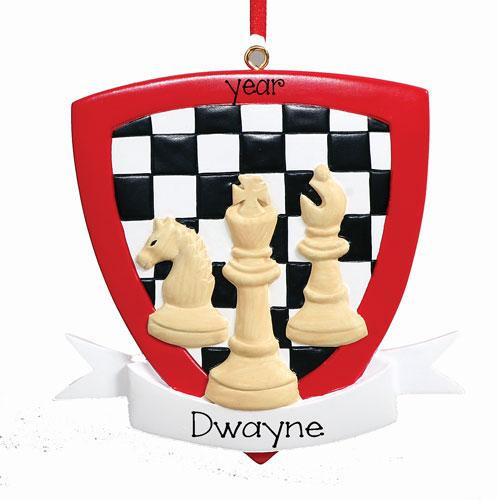 CHESS Personalized Ornament