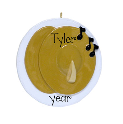 CYMBALS Personalized Ornament