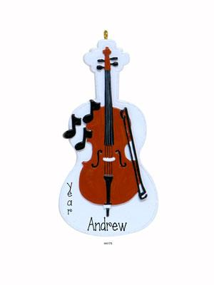 CELLO Personalized Ornament
