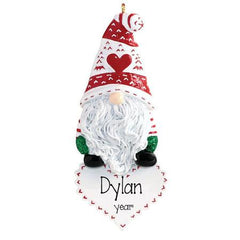 Gnome ~ Personalized Christmas Ornament