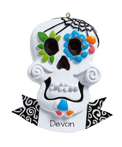 Day of the Dead~Personalized Christmas Ornament