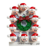 Grandkids up to 10~Personalized Christmas Ornament