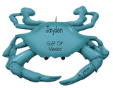 BLUE CRAB-Personalized Christmas Ornament - My Personalized Ornaments