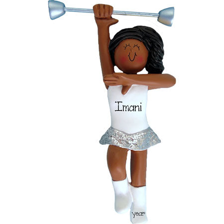 Ethnic BATON TWIRLER Ornament