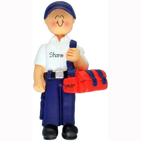 Emergency Medical Tech Ornament (EMT Male)