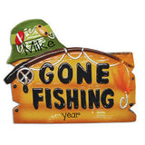 gone fishing with hat / MY PERSONALIZED ORNAMENTS