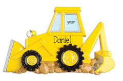BACKHOE / MY PERSONALIZED ORNAMENTS