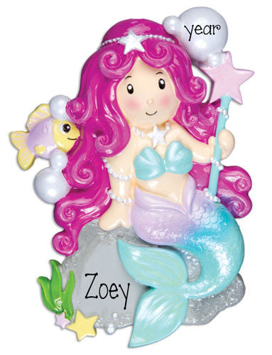 MERMAID - Personalized Ornament