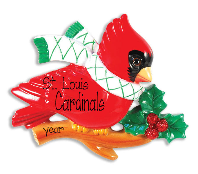 ST. LOUIS CARDINAL - Personalized Ornament