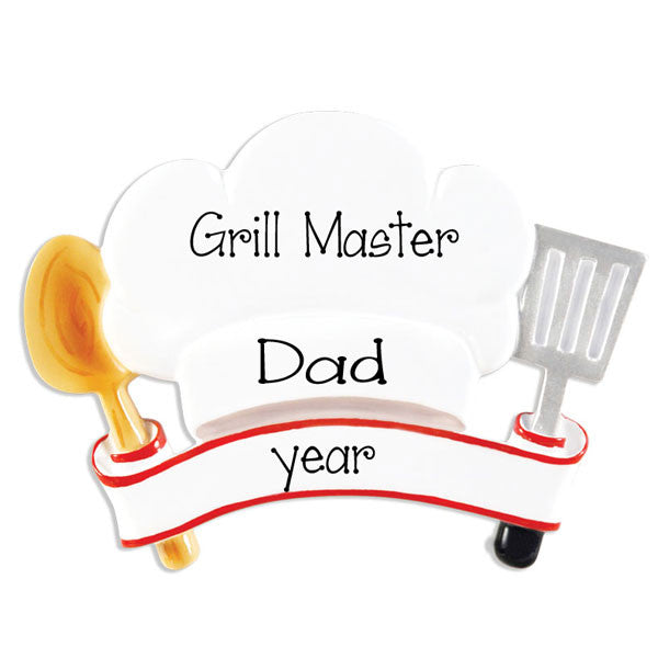 GRILLING / COOK - Personalized Ornament