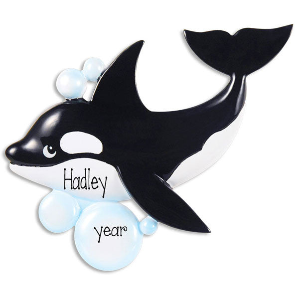 WHALE / MY PERSONALIZED ORNAMENT