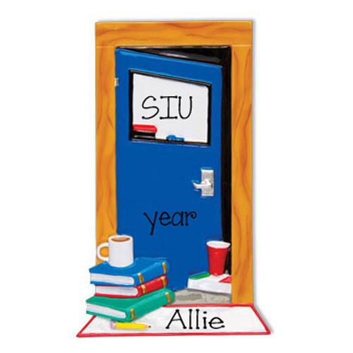 COLLEGE / DORM ROOM - Personalized Ornament