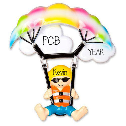 PARASAILING- Personalized Ornament