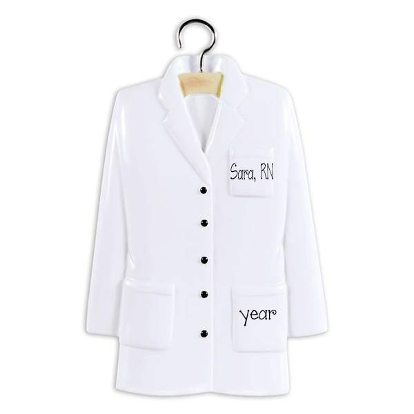LAB COAT for MEDICAL / Personalized Ornament