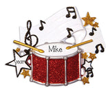 SINGLE DRUM / MY PERSONALIZED ORNAMENTS